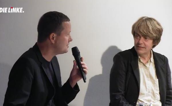 Klaus Lederer und Amelie Deuflhard