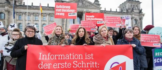 § 219a streichen! Offenen Brief an SPD-Bundestagsfraktion unterzeichnen!