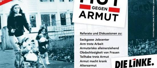 """DIE LINKE diskutiert in Harburg: """"Arm trotz Arbeit"""""""