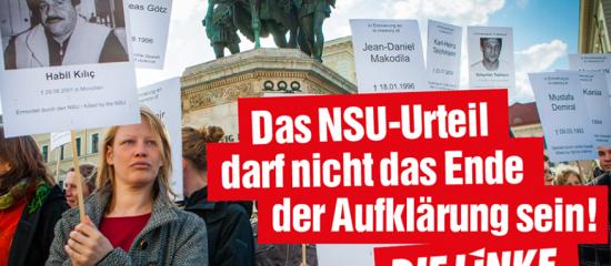 NSU: Kein Schlussstrich!