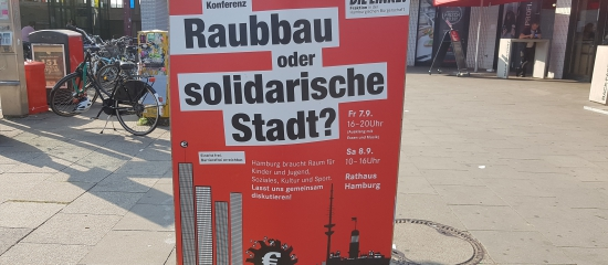 Konferenz: Raubbau oder solidarische Stadt?