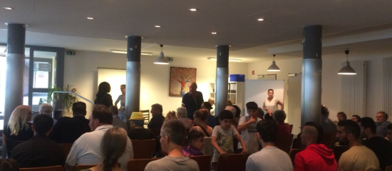 Integration – wie geht das? Podiumsveranstaltung im Café tschai am 23. August 2018