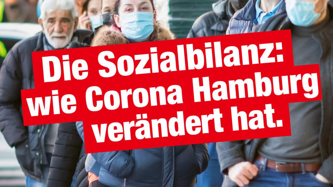 Die Sozialbilanz: Wie Corona Hamburg verändert hat